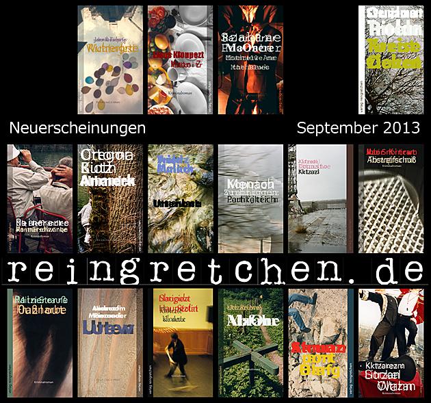 Reingretchen Neuerscheinungen September 2013
